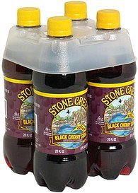 black cherry soda Stone Creek Nutrition info