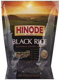 black rice Hinode Nutrition info