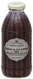 black tea refreshing, organic, black currant Harney & Sons Nutrition info
