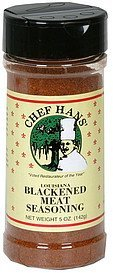 blackened meat seasoning louisiana Chef Hans Nutrition info