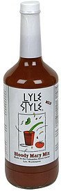 bloody mary mix mild Lyle Style Nutrition info