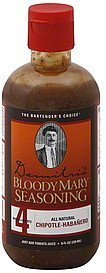 bloody mary seasoning chipotle-habanero Demitris Nutrition info