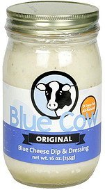 blue cheese dip & dressing original Blue Cow Nutrition info