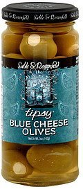 blue cheese olives tipsy Sable & Rosenfeld Nutrition info