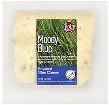 blue cheese smoked, moody blue Roth Nutrition info
