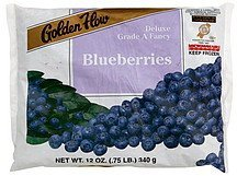 blueberries Golden Flow Nutrition info