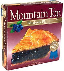 blueberry pie Mountain Top Nutrition info