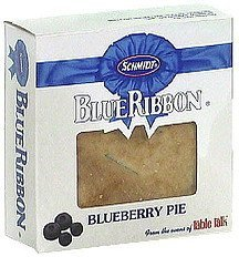 blueberry pie Blue Ribbon Nutrition info