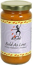 bold as love honey-habanero-mustard d Oni Nutrition info