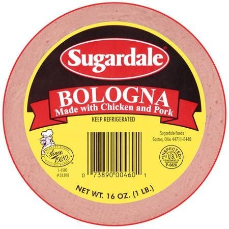 bologna Sugardale Nutrition info
