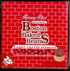 boston baked beans candy Ferrara Pan Nutrition info