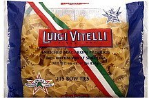 bow ties 115 Luigi Vitelli Nutrition info