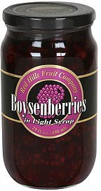 boysenberries in light syrup Red Hills Fruit Company Nutrition info