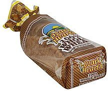 bread 100% whole wheat Ozark Hearth Nutrition info
