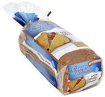 bread 100% whole wheat Weight Watchers Nutrition info