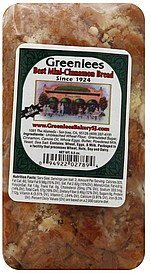 bread best mini-cinnamon Greenlees Nutrition info