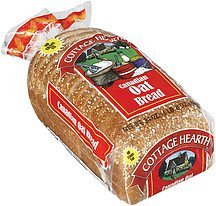 bread canadian oat Cottage Hearth Nutrition info