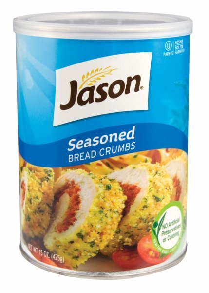 bread crumbs flavored Jason Nutrition info