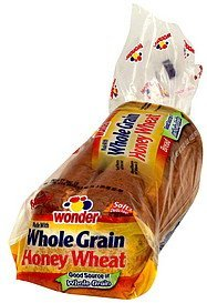 bread honey wheat Wonder Nutrition info