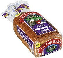 bread honey wheatberry Cottage Hearth Nutrition info
