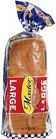 bread large enriched Master Nutrition info