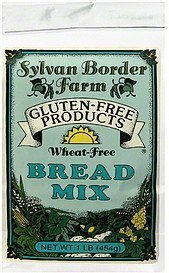 bread mix wheat-free Sylvan Border Farm Nutrition info