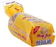 bread old fashion, regular Mary Jane Nutrition info