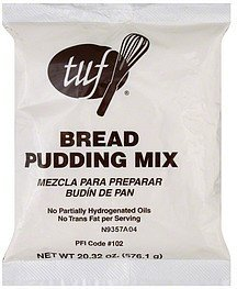 bread pudding mix Tuf Nutrition info