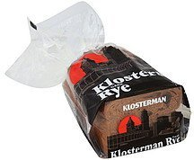 bread rye, dark Klosterman Nutrition info