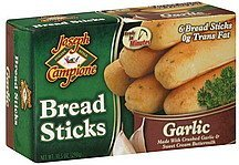 bread sticks garlic Joseph Campione Nutrition info