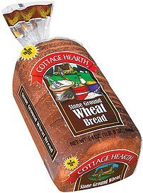 bread stone ground wheat Cottage Hearth Nutrition info