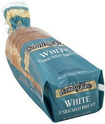 bread white Midwest Country Fare Nutrition info