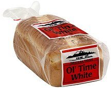 bread white Western Farms Nutrition info