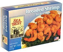 breaded shrimp, basket-style Sea Best Nutrition info