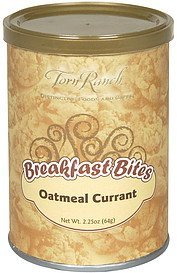 breakfast bites oatmeal currant Torn Ranch Nutrition info