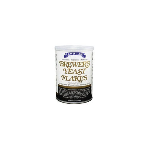 brewer's yeast flakes Lewis Labs Nutrition info