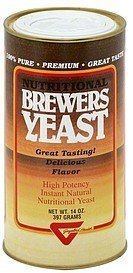 brewers yeast Gayelord Hauser Nutrition info
