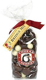 bridge mix chocolate medley Chukar Cherries Nutrition info