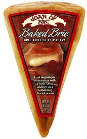 brie baked cheese in pastry Joan of Arc Nutrition info