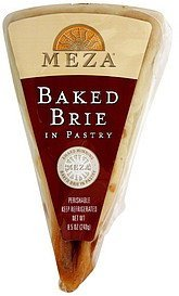 brie baked in pastry Meza Nutrition info