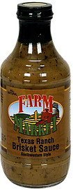 brisket sauce texas ranch Farm Market Nutrition info
