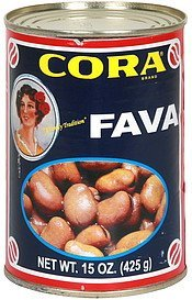 broad beans fava Cora Nutrition info