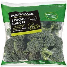 broccoli florets Marketside Nutrition info