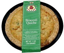 broccoli quiche Home Made Brand Nutrition info