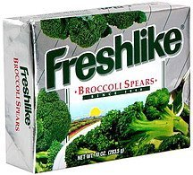 broccoli spears Freshlike Nutrition info