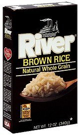brown rice natural whole grain River Nutrition info
