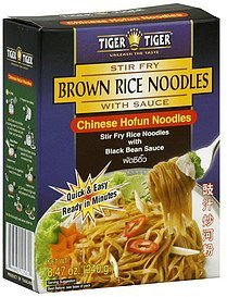 brown rice noodles chinese hofun noodles Tiger Tiger Nutrition info