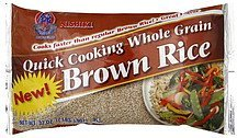 brown rice quick cooking whole grain Nishiki Nutrition info
