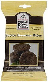 brownie bites petite Sugar Bowl Bakery Nutrition info
