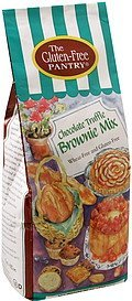 brownie mix chocolate truffle The Gluten-Free Pantry Nutrition info